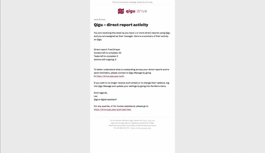 Qigu report